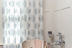 Voile Curtains in bathroom