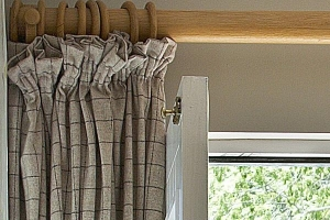 Gathered Curtains