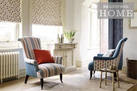 3-sanderson-home-maida-dobby-stripe-fabric-comfy-chairs-white-blue-orange-sunset-stripe-abstract1