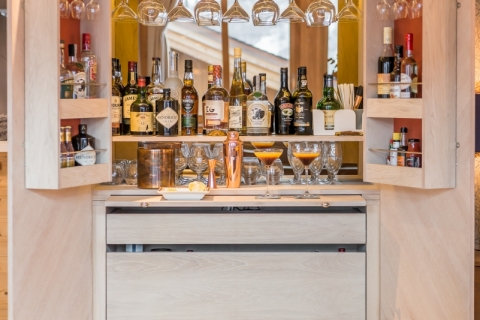 bespoke drinks cabinet from Rhatigan & Hick