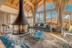 Bespoke sofas, hand woven silk rug