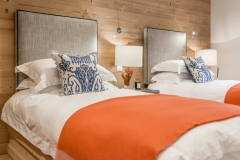Twin Guest Room, all headboards and accessories by Collette Ward Interiors